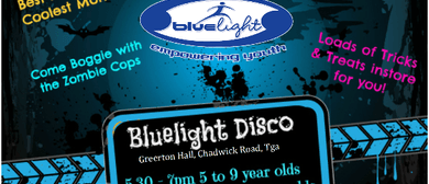 Blue Light Halloween Disco