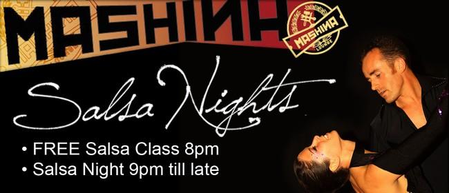 Mashina Salsa Nights