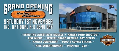 Auckland Harley-Davidson Grand Opening
