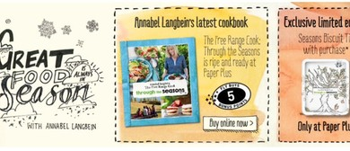 Annabel Langbein Instore Book Signing
