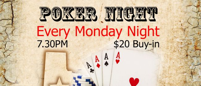 Texas Hold'em Poker & Whisky Night