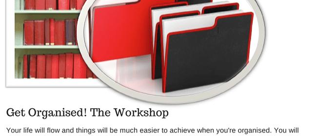 Get Organised Workshop