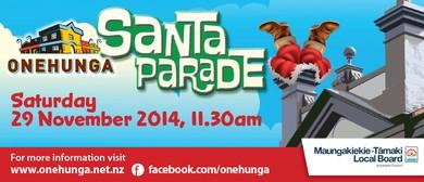 Onehunga Santa Parade