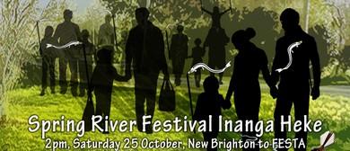 FESTA 2014: Spring River Festival Inanga Heke