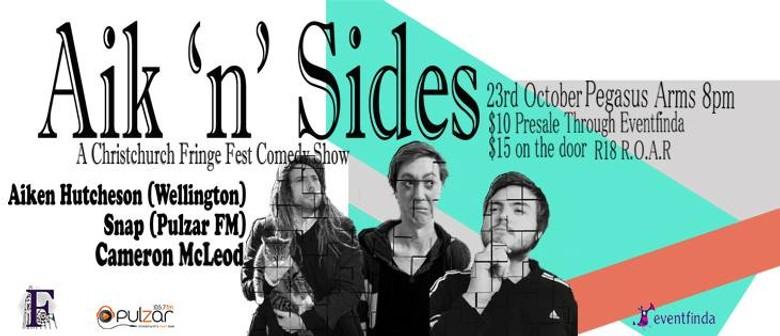 Aik 'n' Sides - A Fringe Fest Comedy Show