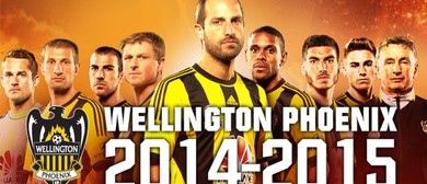 Hyundai A-League Football - Wellington Phoenix v Mariners