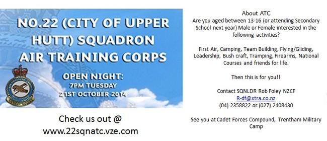 22 SQN ATC - 2014 Recruiting