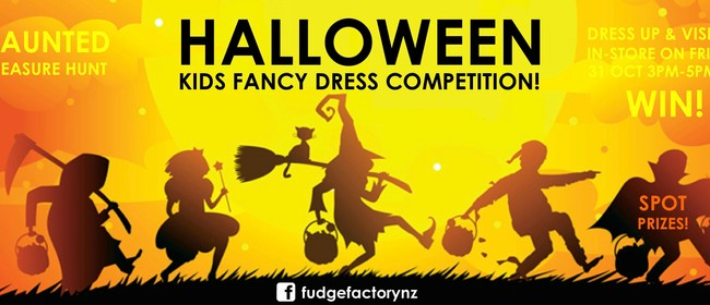 Halloween Kid's Fancy Dress Competition
