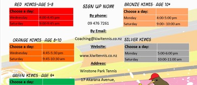 Tennis Program Term 4