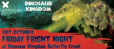 Dinosaur Kingdom's Friday Fright Night