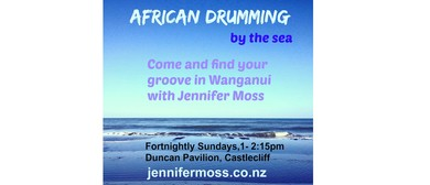 African Drumming By the Sea