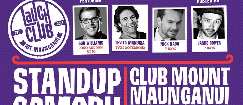 Stand Up Comedy - Feat. Guy Williams
