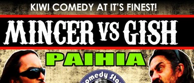 Gish vs. Mincer Summer Comedy Tour