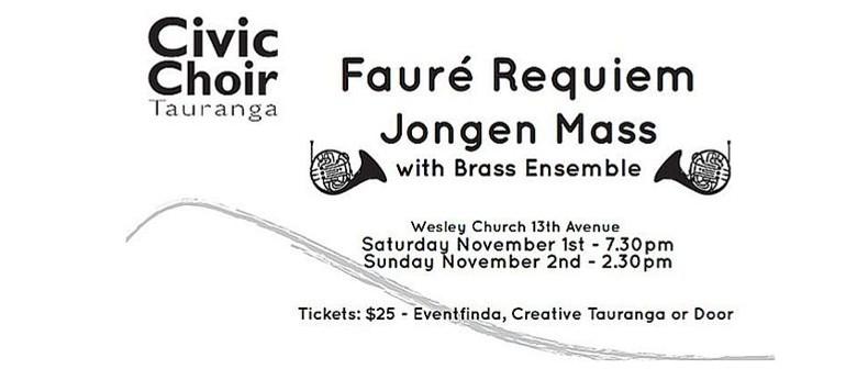 Faure Requiem and Jongen Mass