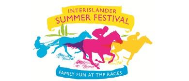 Interislander Summer Festival Woodville Races