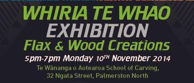 Whiria Te Whao / Flax & Wood Creations