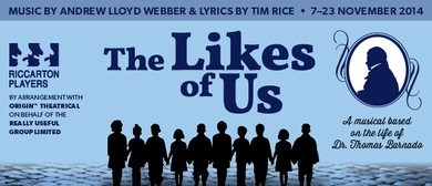 The Likes of Us - A Musical by Andrew Lloyd Webber & Tim Ric