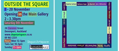 Group Show: Outside the Square