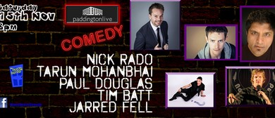 Live Comedy featuring '7 Days' stars Nick Rado & Tim Batt