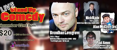 Live Comedy Featuring Brendhan Lovegrove
