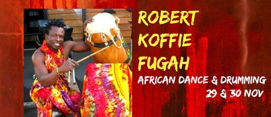 African Dance & Drumming with Robert Koffie Fugah