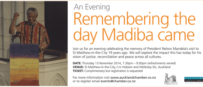 Remembering the Day Madiba Came