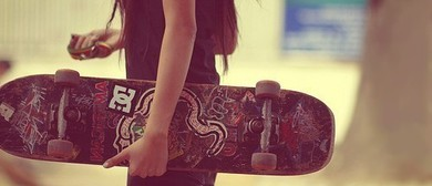 Girls Only Go Skateboard Day