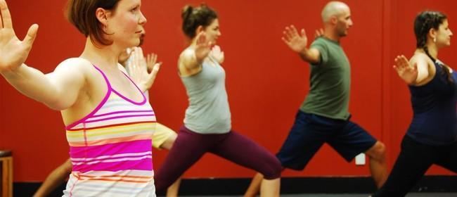 Sunday Calligraphy Yoga Classes