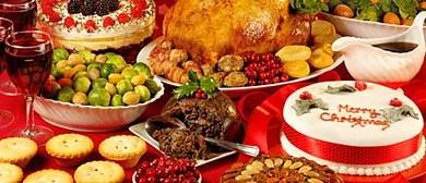 Traditional European Christmas Day Buffet