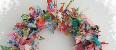 Children's Christmas Craft Workshop - Fabric Wreaths