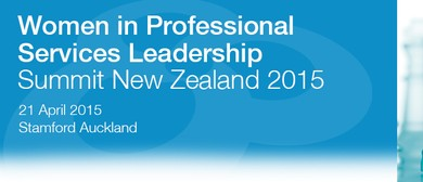 Women in Professional Services Leadership Summit