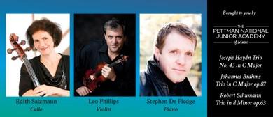 Phillips/ Salzmann/ de Pledge - Trio Concert