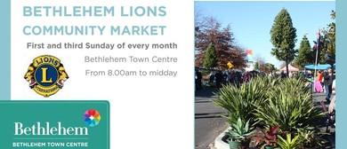 Bethlehem Lions Community Market