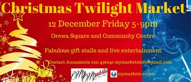 Christmas Twilight Market