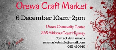 Orewa Craft & Street Market
