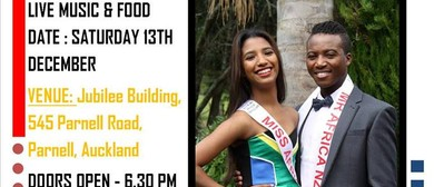An Evening with Miss and Mr Africa New Zealand 2014