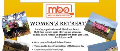 MBO Women's Paddle Board Retreat