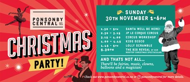 Ponsonby Central Christmas Party