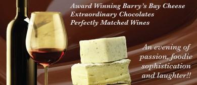 Chocolate, Cheese & Wine Extravaganza