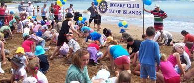 Paihia Summer Festival - Bay of Islands Rotary Beach Dig