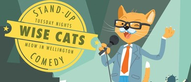 Wise Cats Stand-up Comedy, with James Jobe