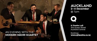 A Chistmas Evening with the Modern Māori Quartet