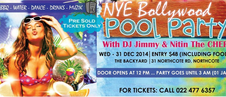 Hottest NYE Bollywood Pool Party