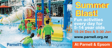 Cool Pool - Parnell Trust Holiday Programme