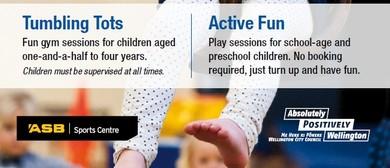 Tumbling Tots (Friday Pre School Programme)