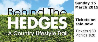 Behind the Hedges Country Lifestyle Trail