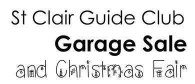 St Clair Guide Club - Garage Sale
