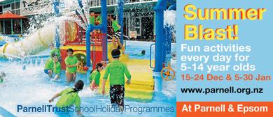 Kayaking - Parnell Trust Holiday Programme