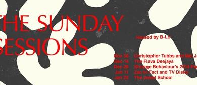 Strange Behaviour presents The Sunday Sessions