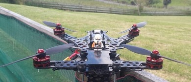 Neil's Quadcopters at the Whangarei A & P Show